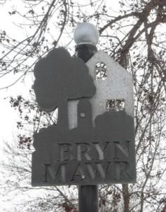 Bryn Mawr Sign