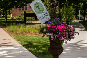 Photo of the Garden of Hope and Healing located in Bryn Mawr.